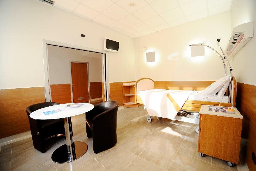 Foto di una camera del centro Milano San Vittore