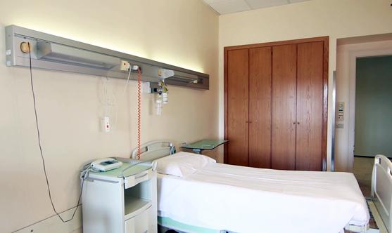 Foto di una camera del centro Roma Quisisana