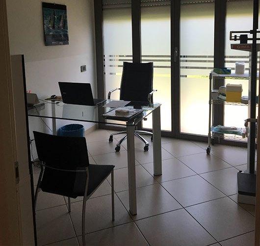Foto dell'ufficio dei medici del centro Alessandria Borgo Cittadella