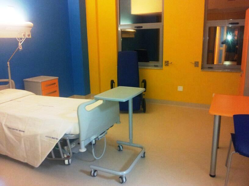 Foto di una camera del centro Messina Martino