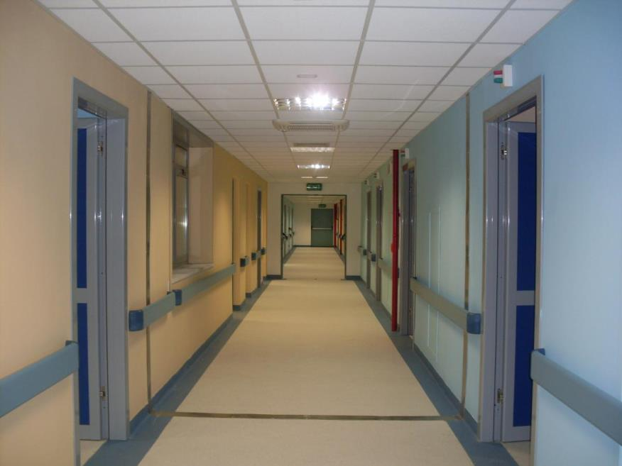 Foto del reparto del centro Messina Martino