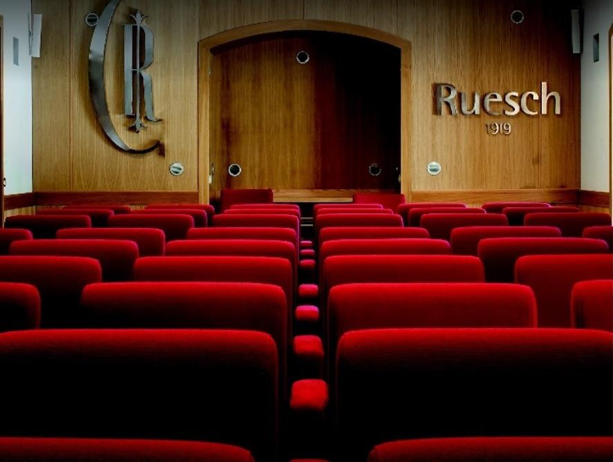 Foto della sala confererenze del centro Napoli Ruesch