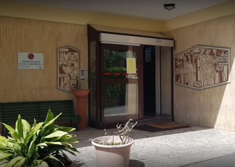 Foto dell'ingresso del centro Roma Annunziatella