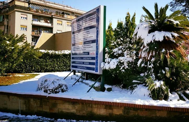 Foto dell'esterno del centro Roma Villa Benedetta