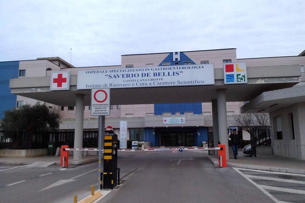 Foto dell'esterno del centro Castellana Grotte (Bari)