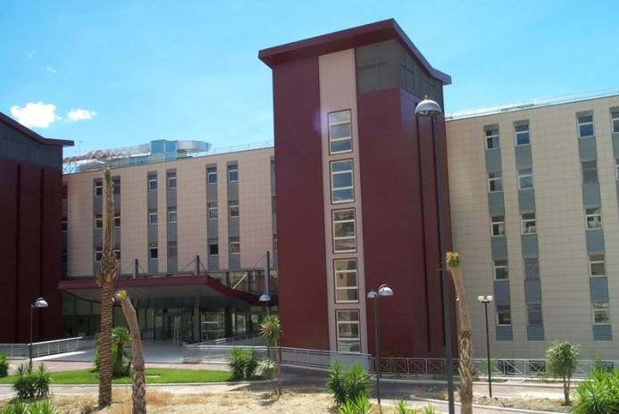 Foto dell'esterno del centro Matera Madonna delle Grazie