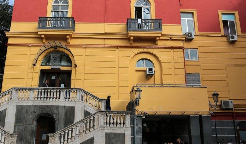 Foto dell'esterno del centro Napoli Arenella
