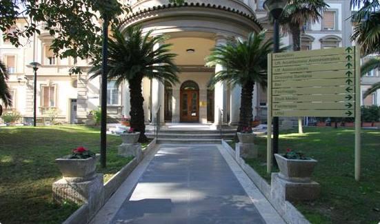 Foto dell'esterno del centro Roma Quisisana