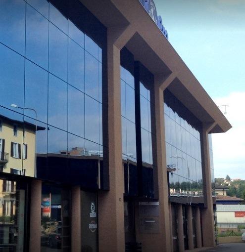 Foto dell'ingresso del centro Lugano Care