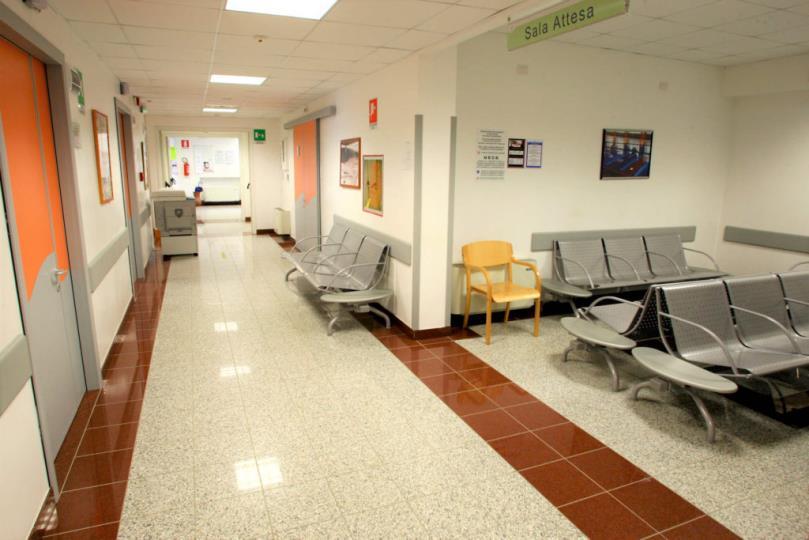 Foto della sala d'attesa del centro Acqui Terme (Alessandria) – Moirano