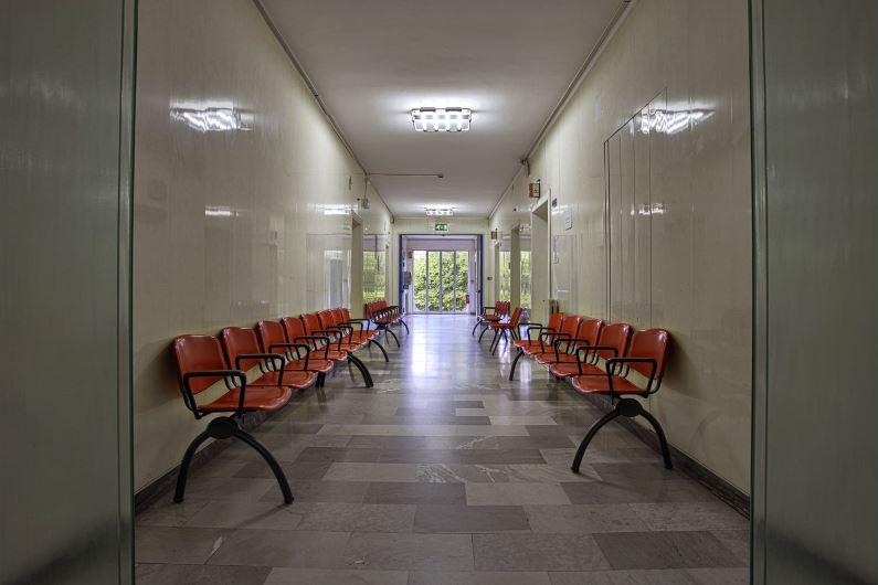 Foto della sala d'attesa del centro Castellammare di Stabia (Napoli) – Villa Stabia