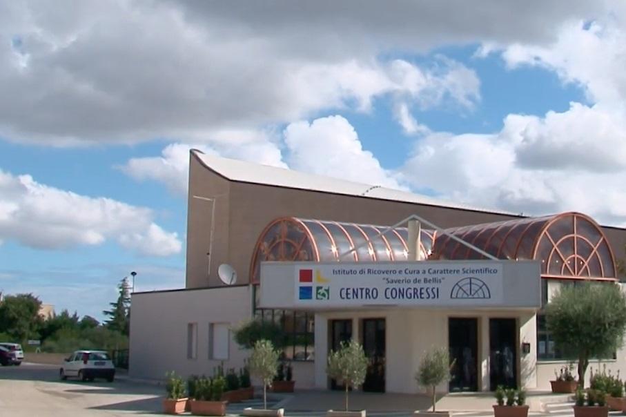 Foto della sala congressi del centro Castellana Grotte (Bari)