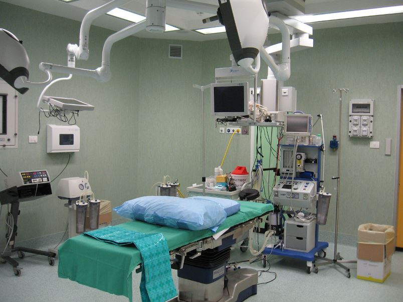 Foto della sala operatoria del centro Acqui Terme (Alessandria) – Moirano