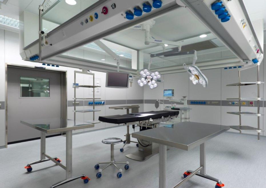 Foto della sala operatoria del centro Venezia Rizzola