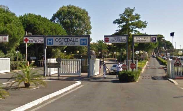 Dott. Erminio Capezzuto foto ingresso del centro di Ostia (Roma)