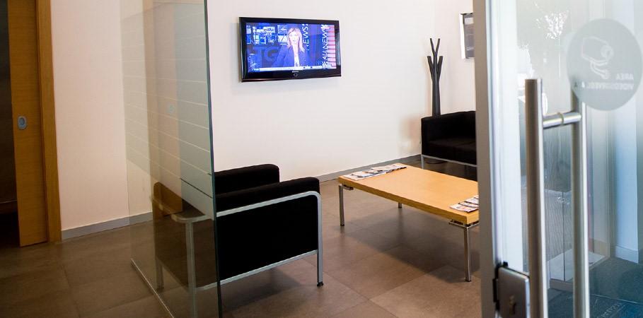 Dott. Mario Gisotti foto della sala di attesa centro di Gioia Del Colle (BA)