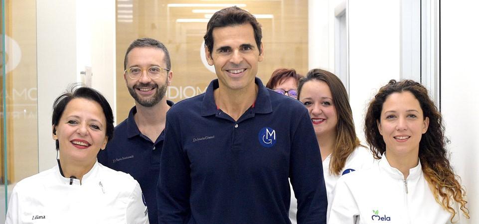 Foto dello staff del Dott. Mario Gisotti