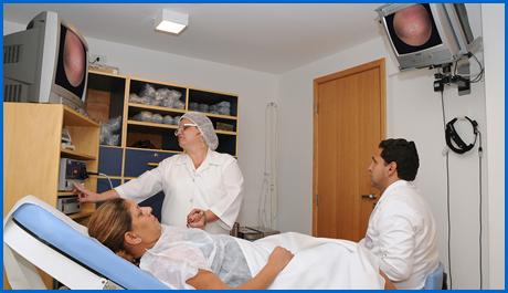 posizione del paziente nell'isteroscopia
